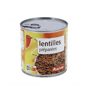 Auchan lentilles préparées...
