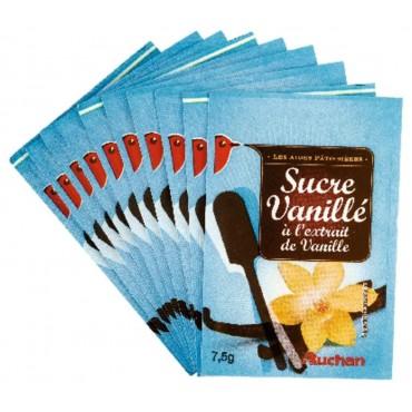 Auchan sucre vanillé