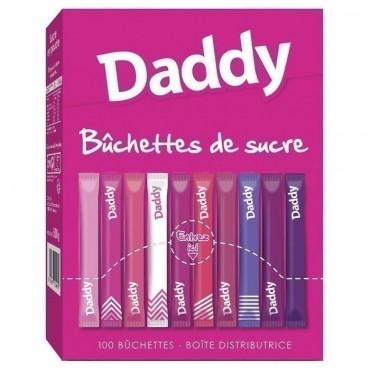 Daddy bûchettes de sucre x100