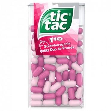 Tic Tac duo fraises