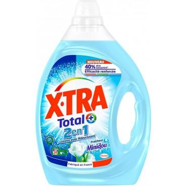 X-tra lessive liquide 2en1...
