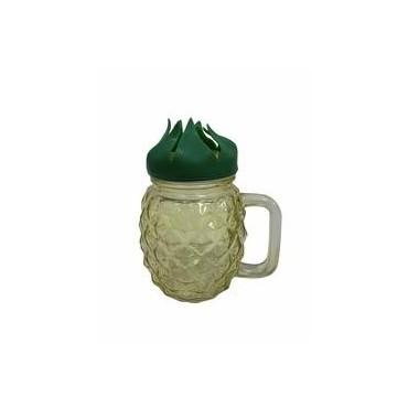 Jar avec paille d\'ananas...