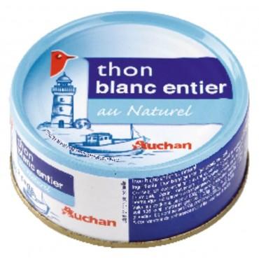 Auchan thon blanc entier au...