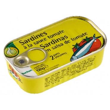 Pouce sardines à la tomate