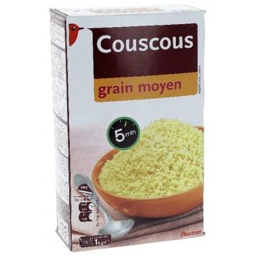 Auchan couscous grain moyen...
