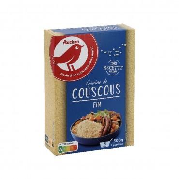 Auchan couscous fin 500g