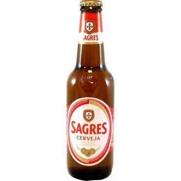 Sagres bière bouteille 33CL