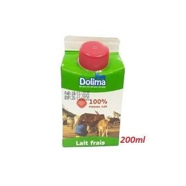 Dolima lait frais entier 200ml