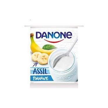 Danone yaourt assil banane...