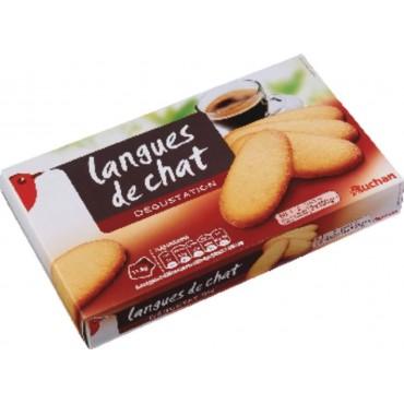 Auchan langues de chat 200g