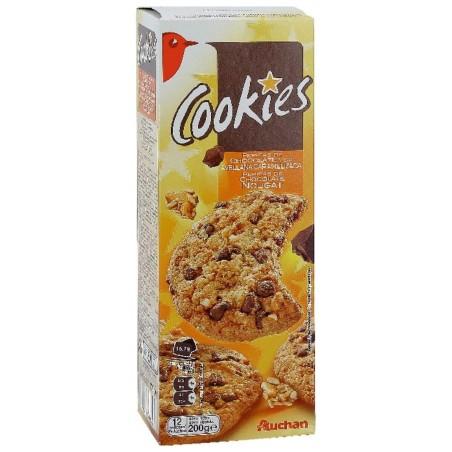Auchan cookies 200g