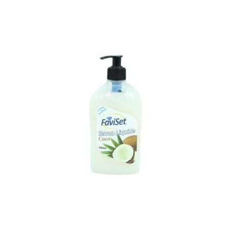 Faviset savon liquide coco 500ml