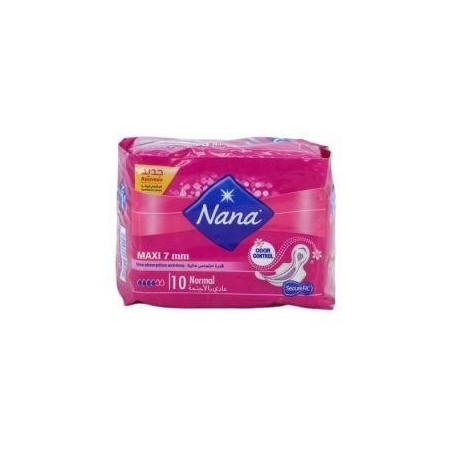 Nana serviettes Maxi 7mm Normal x10