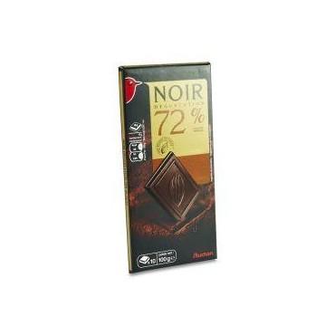 Auchan chocolat noir 72% 100g