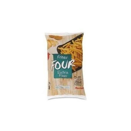 Auchan frites four extra fines 1kg
