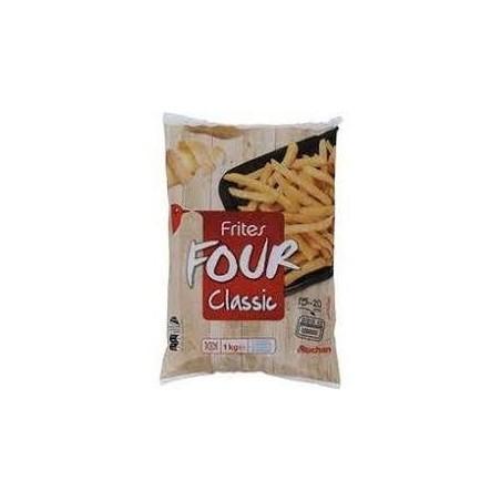 Auchan frites four classic 1kg