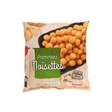 Auchan pommes noisettes 1kg