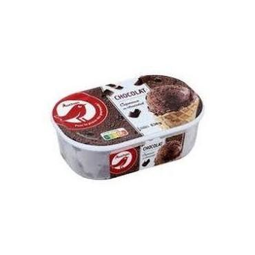 Auchan glace chocolat avec...