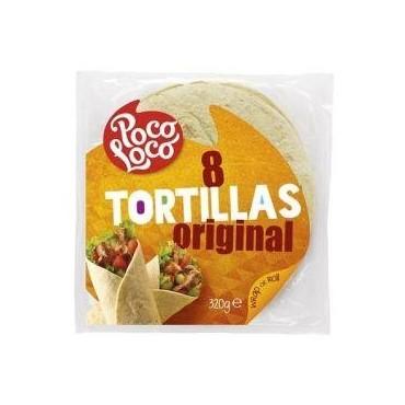 Poco Loco 8 tortillas...