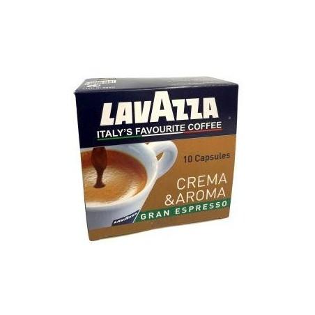 Lavazza café crema & aroma 10 capsules