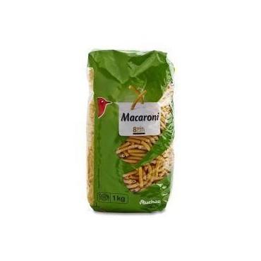 Auchan macaroni QS Cello 1 kg