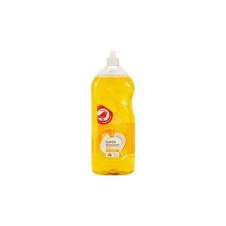 Auchan liquide vaisselle super dégraissant citron parfum de synthèse 1,5L