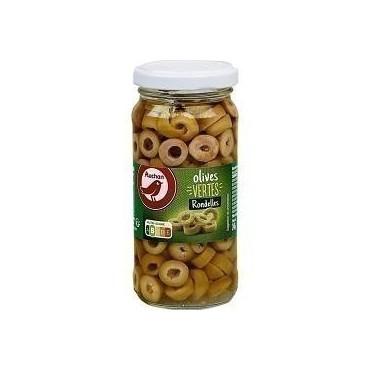 Auchan Rondelles d\'olives...