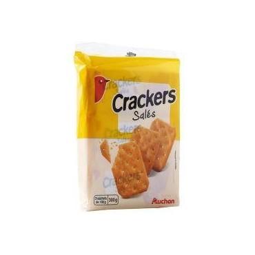 Auchan biscuits crackers...