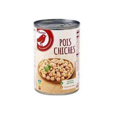 Auchan pois chiches 400 g