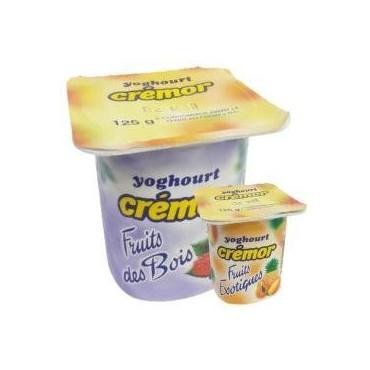Crémor yaourt fruits des...