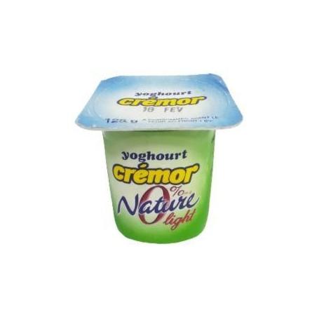 Crémor yaourt nature 0% light pot de 125 g