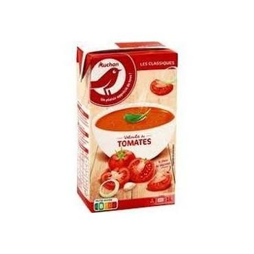Auchan velouté de tomates 1L