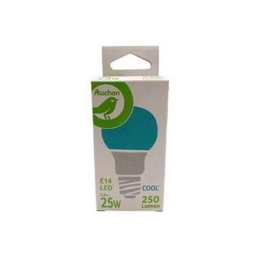 Auchan ampoule LED Cool E14...