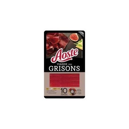 Aoste viande des grisons 10 tranches 80 g