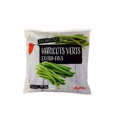 Auchan haricots verts...