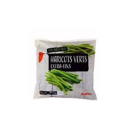 Auchan haricots verts extra-fins surgelé sachet 1 kg