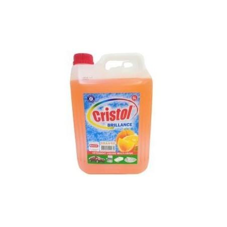 Cristol détergent liquide multi-usages orange 5L