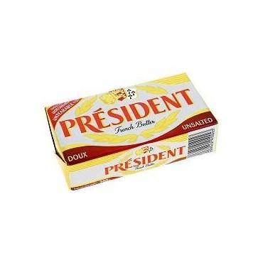 Président beurre doux...