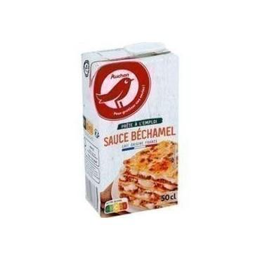 Auchan Sauce Bechamel 50CL