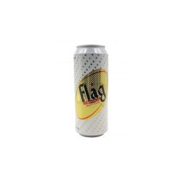 Flag bière cannette