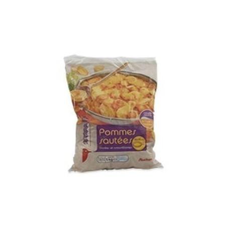 Pommes Sautées Auchan 1KG
