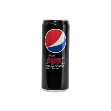 Pepsi Max cola canette 33cl