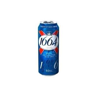Bière 1664 canette 50cl