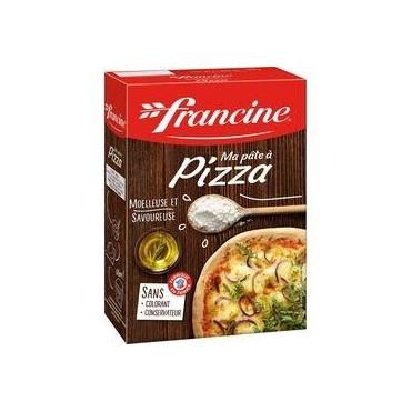 FRANCINE Ma pâte à pizza...