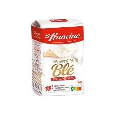 FRANCINE Farine de blé tous...