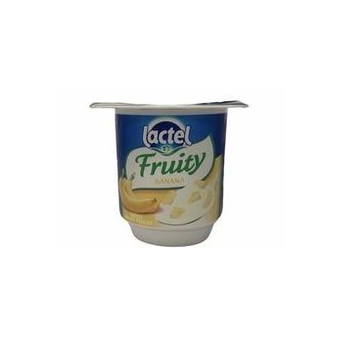 Lactel fruity banane 125g