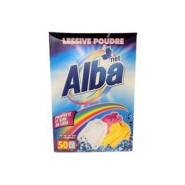 Alba net lessive en poudre...