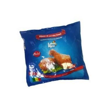 Label Bleu pilons de poulet...
