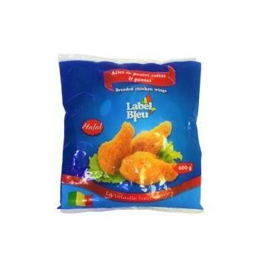 Label Bleu ailes de poulet...