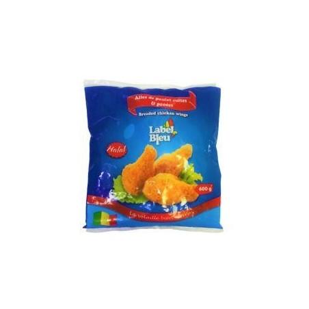 Label Bleu ailes de poulet panées surgelés 600g
